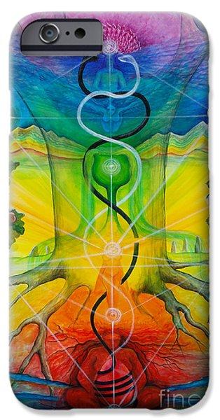 Alchemical Door IPhone Case by Colleen Koziara