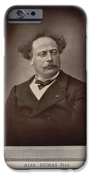 Alexandre Dumas IPhone Case by British Library
