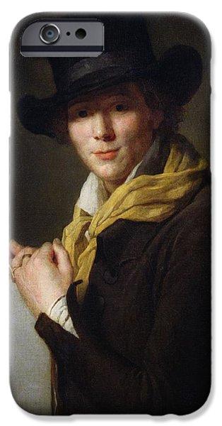Alexandre Lenoir IPhone Case by Marie Genevieve Bouliard