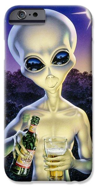 Alien Brew IPhone 6s Case by Steve Read