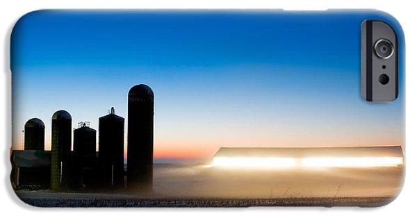 Alien Twilight IPhone Case by Todd Klassy