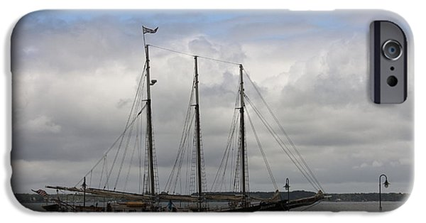 Alliance Schooner IPhone Case by Teresa Mucha