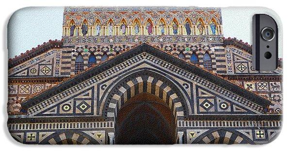 Amalfi Cathedral Italy  IPhone Case by Irina Sztukowski
