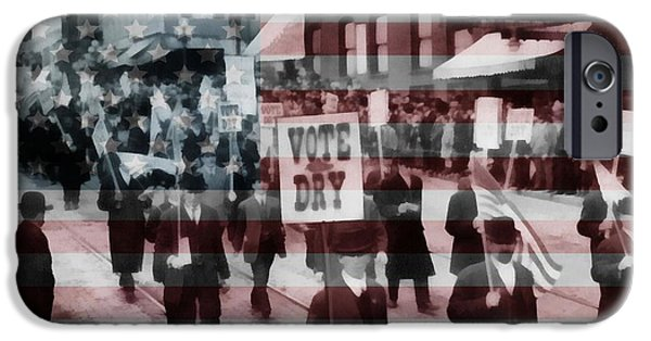 American Prohibition March IPhone Case by Dan Sproul