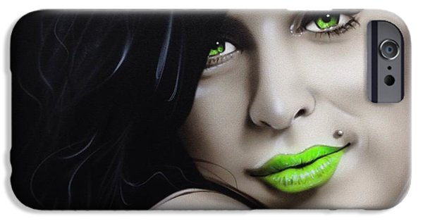 Amy Winehouse - 'amy Jade' IPhone 6s Case by Christian Chapman Art