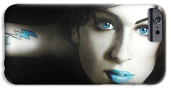 Amy Winehouse - 'amy 'n' Blues' IPhone 6s Case by Christian Chapman Art