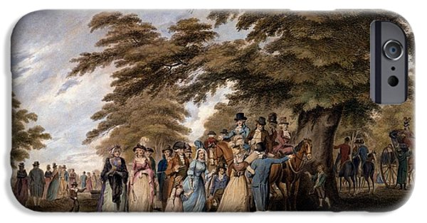 An Airing In Hyde Park, 1796 IPhone 6s Case by Edward Days
