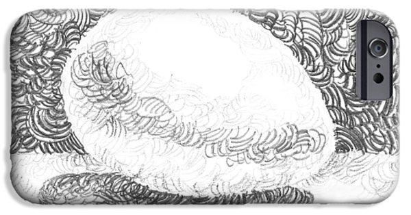 An Egg Study Three IPhone Case by Irina Sztukowski