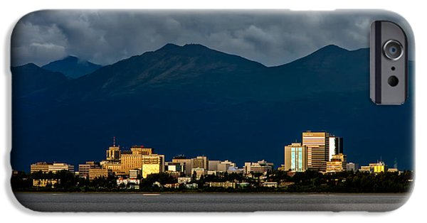 Anchorage IPhone Case by Rick Berk