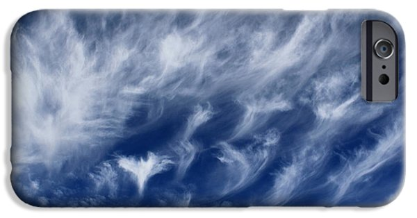 Angels Are With Us IPhone Case by Krissy Katsimbras