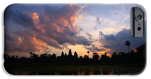 Angkor Wat Sunrise IPhone Case by FireFlux Studios