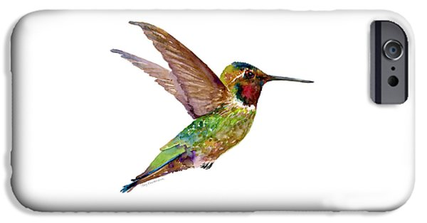 Anna Hummingbird IPhone 6s Case by Amy Kirkpatrick
