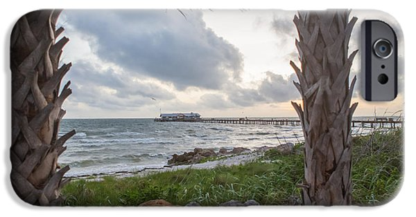 Anna Maria City Pier IPhone Case by Kay Pickens