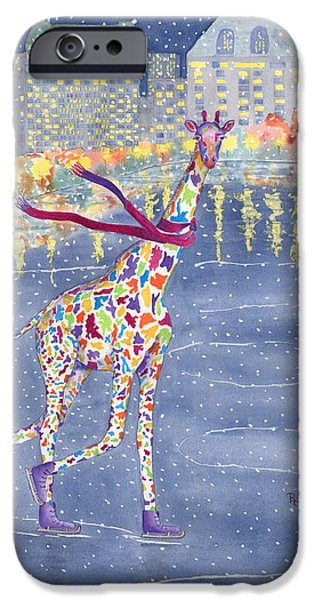 Annabelle On Ice IPhone Case by Rhonda Leonard