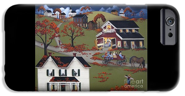 Annual Barn Dance And Hayride IPhone 6s Case by Catherine Holman