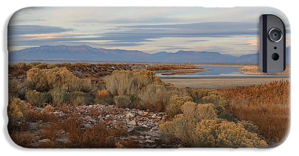 Antelope Island - Scenic View IPhone Case by Ely Arsha