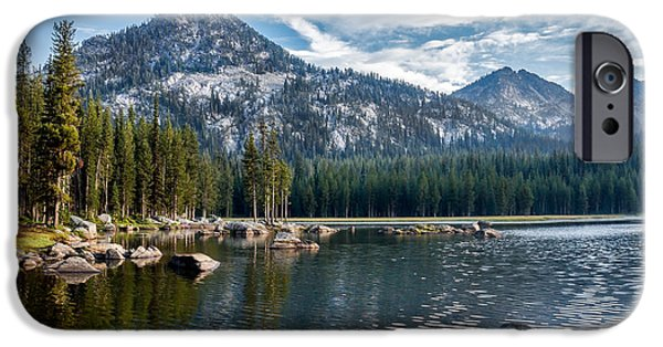 Anthony Lake IPhone Case by Robert Bales