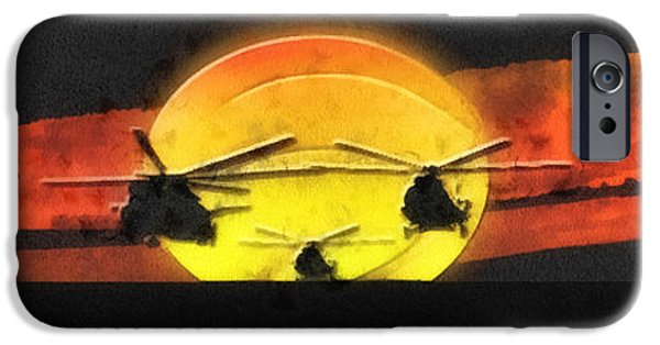 Apocalypse Now IPhone Case by Mo T