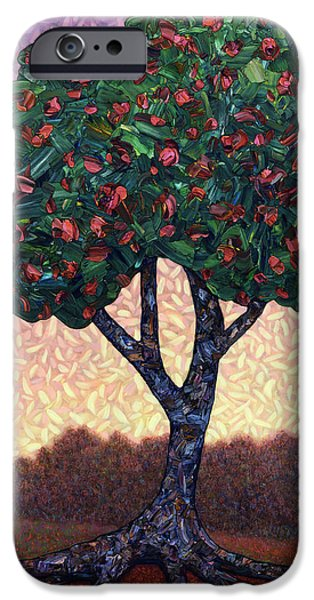 Apple Tree IPhone Case by James W Johnson