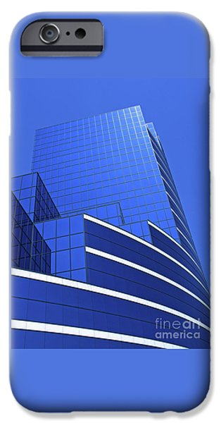 Architectural Blues IPhone Case by Ann Horn