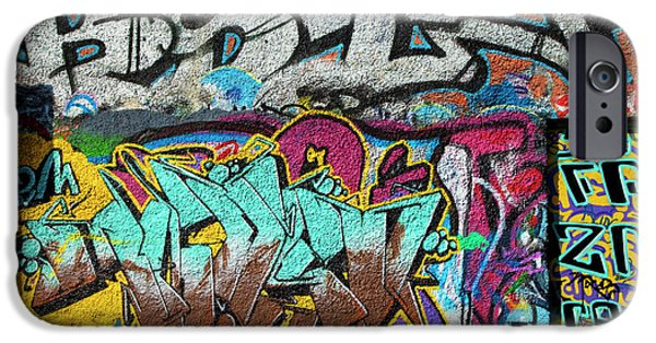 Artistic Graffiti On The U2 Wall IPhone 6s Case by Panoramic Images