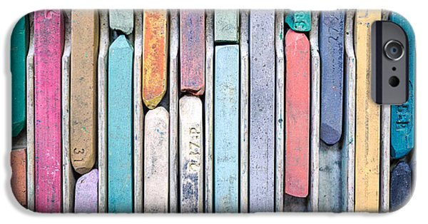 Artists Chalks IPhone Case by Edward Fielding