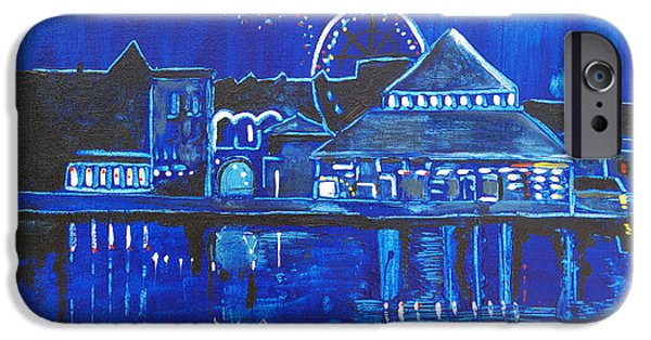Asbury Park's Night Memories IPhone Case by Patricia Arroyo