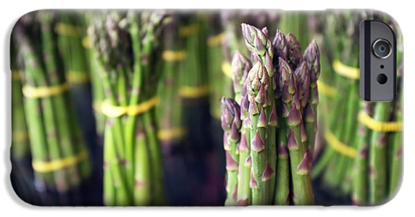 Asparagus IPhone Case by Tanya Harrison