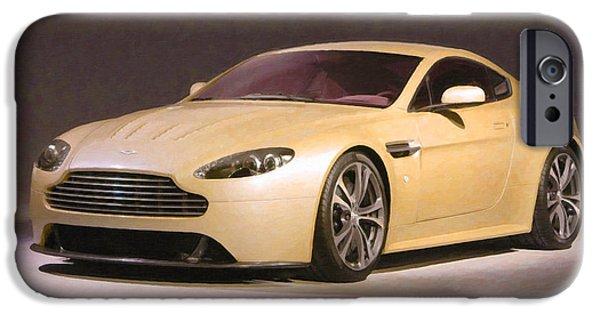 Aston Martin 5 IPhone Case by Lanjee Chee