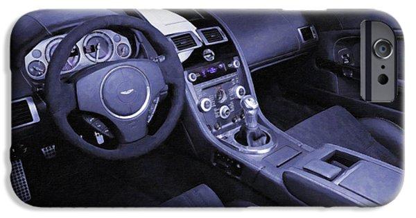 Aston Martin 6 IPhone Case by Lanjee Chee