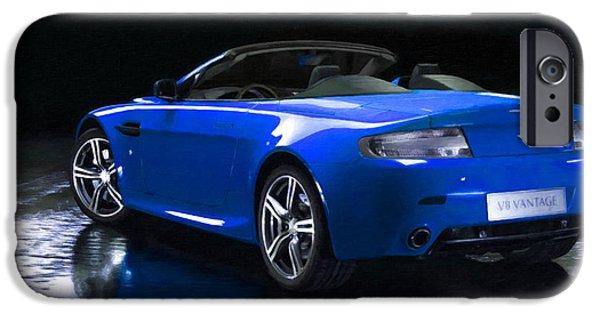Aston Martin 9 IPhone Case by Lanjee Chee