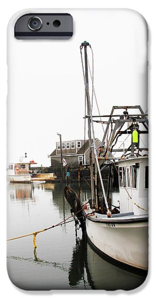 At Dock IPhone Case by Karol Livote