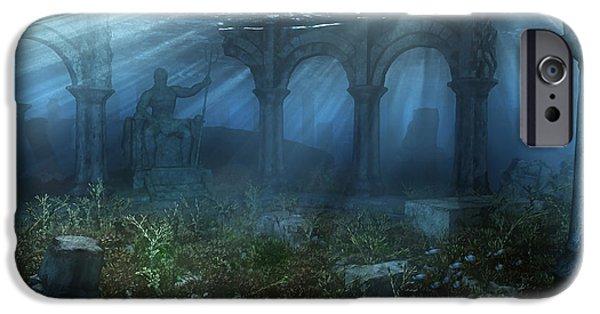 Atlantis IPhone Case by Cynthia Decker