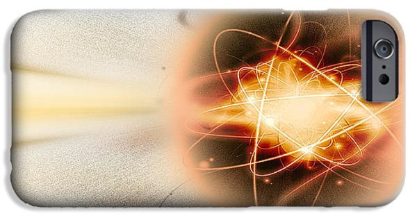 Atom Collision IPhone Case by Panoramic Images