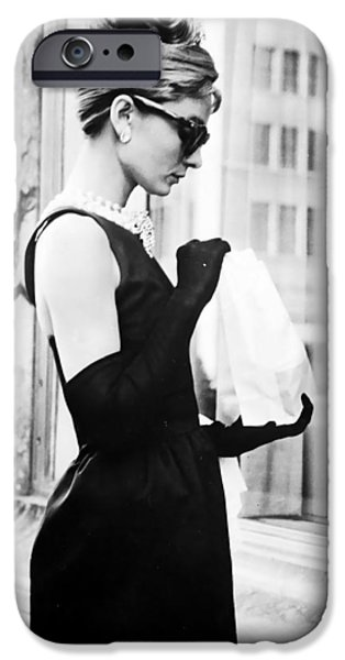 Audrey At Tiffanys IPhone 6s Case by Georgia Fowler