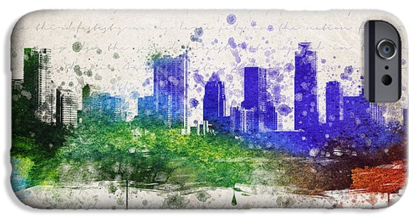 Austin In Color IPhone 6s Case by Aged Pixel