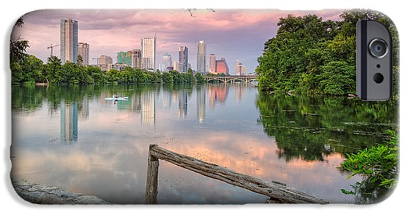 Austin Skyline From Lou Neff Point IPhone 6s Case by Silvio Ligutti