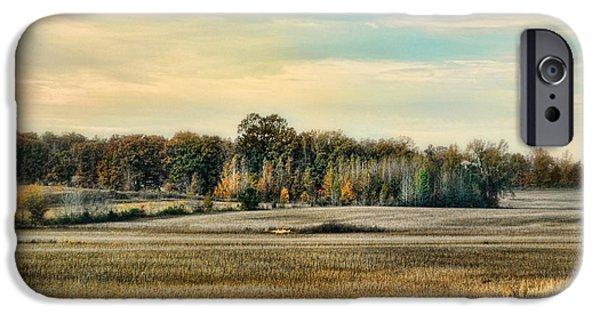 Autumn Fields - Landscape IPhone Case by Jai Johnson
