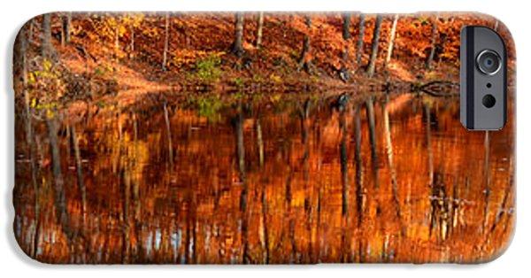 Autumn Paradise IPhone Case by Lourry Legarde