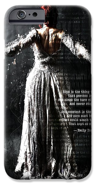 Awaiting Her Wings IPhone Case by Gary Bodnar