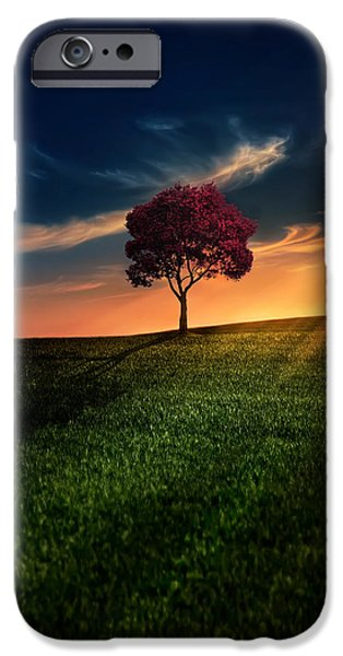 Awesome Solitude IPhone Case by Bess Hamiti