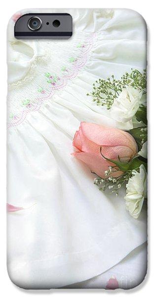 Baby Girl Dress IPhone Case by Diane Diederich