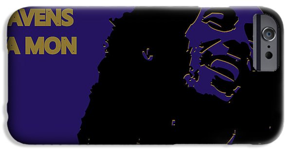 Baltimore Ravens Ya Mon IPhone Case by Joe Hamilton
