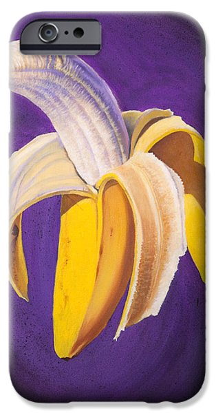 Banana Half Peeled IPhone 6s Case by Karl Melton
