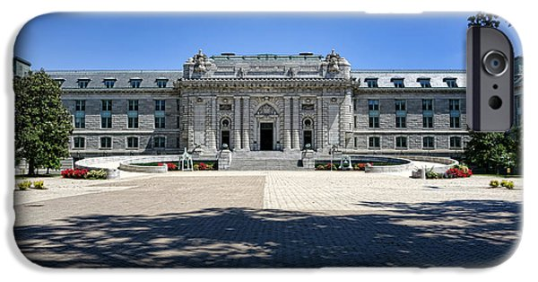 Bancroft Hall IPhone Case by Olivier Le Queinec