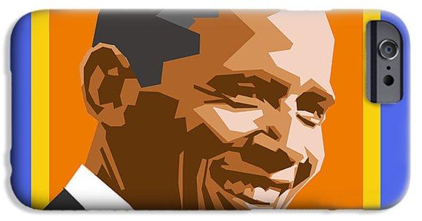 Barack IPhone 6s Case by Douglas Simonson