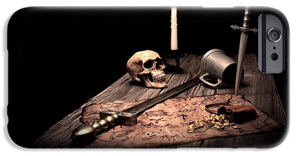 Barbarian Quest IPhone Case by Tom Mc Nemar