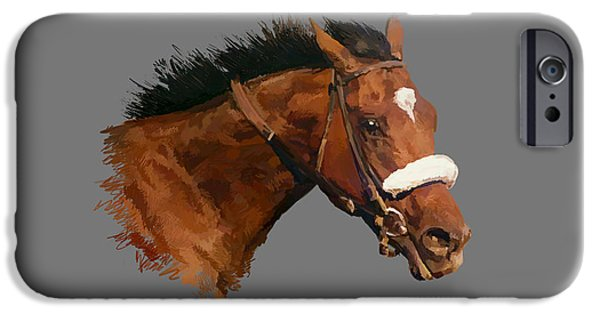 Barbaro IPhone Case by Charley Pallos