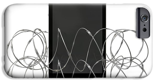Barbed Wire Protected Smartphone IPhone Case by Allan Swart