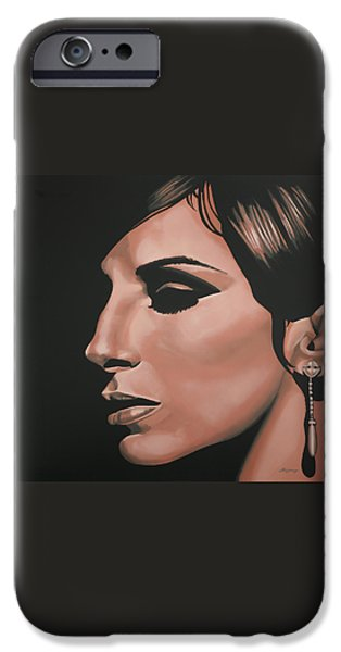 Barbra Streisand IPhone Case by Paul Meijering